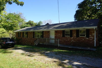 Roanoke County Single Family Home For Sale: 8728 Bent Mountain Rd