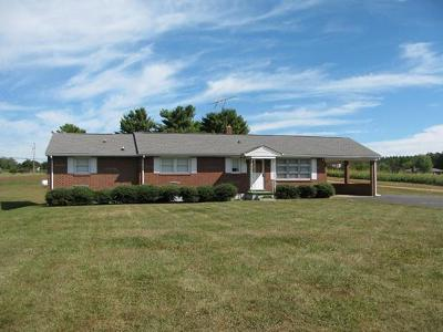Pittsylvania County Single Family Home For Sale: 2037 E Gretna Rd