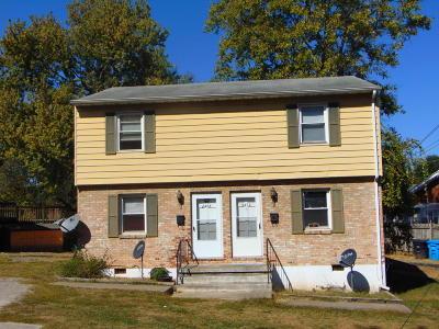 Roanoke Multi Family Home For Sale: 2408 Lyndhurst St NW #& 2410