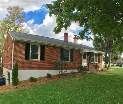 Roanoke Single Family Home For Sale: 2502 Hillendale Dr NW