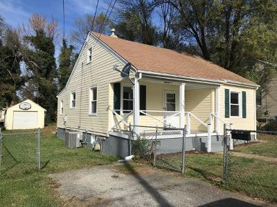 Roanoke VA Single Family Home Closed: $84,200