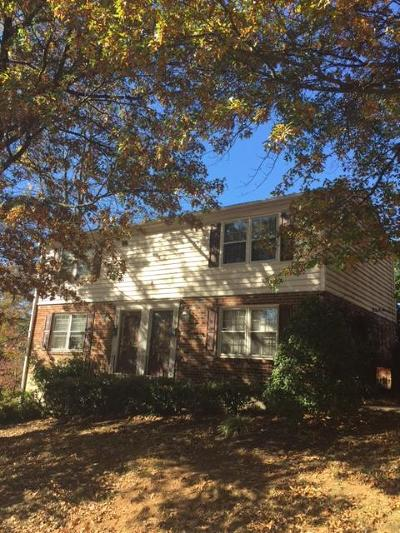 Roanoke Multi Family Home For Sale: 1719 Chesterfield St SW