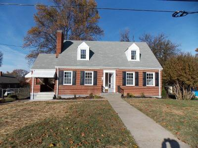 Roanoke Single Family Home For Sale: 1618 Aspen St NW