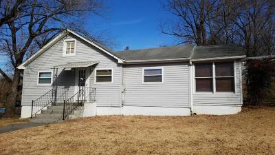 Roanoke VA Single Family Home For Sale: $85,000