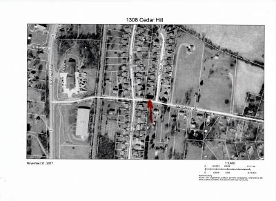 Roanoke Residential Lots & Land For Sale: 1308 Cedar Hill
