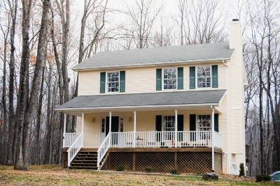 Botetourt County Single Family Home For Sale: 1796 Woodshire Dr