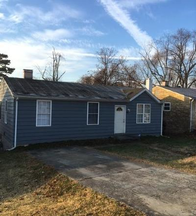 Roanoke Single Family Home For Sale: 4314 Moomaw Ave NW