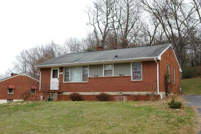 Roanoke Single Family Home For Sale: 3402 Manassas Dr