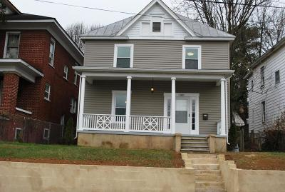 Roanoke Single Family Home For Sale: 1029 12th St
