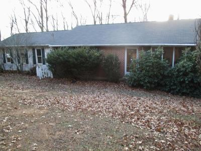 Blue Ridge Single Family Home For Sale: 1522 Fosters Knob Rd