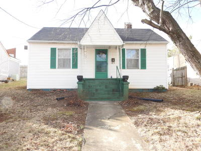 Vinton Single Family Home For Sale: 537 Jefferson Ave