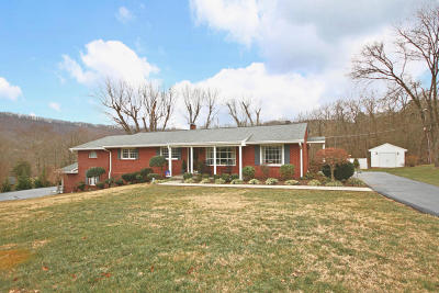 Vinton Single Family Home For Sale: 1023 Little Paradise Ln