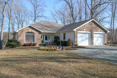 Bedford County, Franklin County, Pittsylvania County Single Family Home For Sale: 550 Cedar Ridge Rd