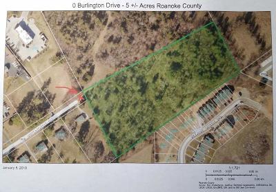 Residential Lots & Land For Sale: Burlington Dr