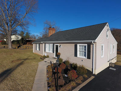 Roanoke Single Family Home For Sale: 5709 Hollins Rd