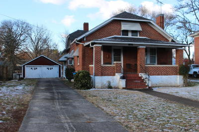 Roanoke VA Single Family Home For Sale: $89,000