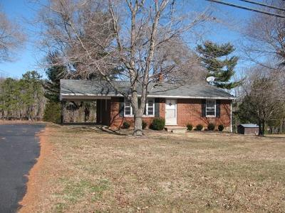 Pittsylvania County Single Family Home For Sale: 2104 W Gretna Rd