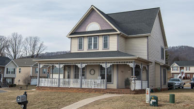Vinton Single Family Home For Sale: 2607 Stewart View Ter