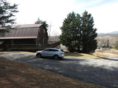 Botetourt County Single Family Home For Sale: 4466 Read Mountain Rd