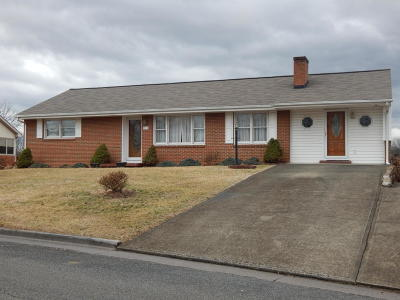 Roanoke County Single Family Home For Sale: 715 Dillon Dr