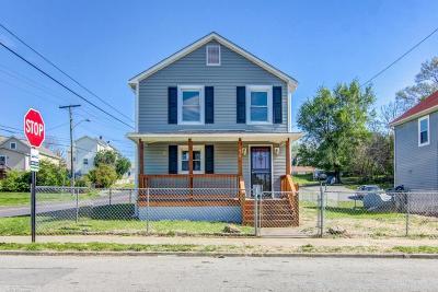 Roanoke VA Single Family Home For Sale: $70,000