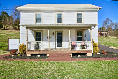 Botetourt County Single Family Home For Sale: 5907 Lee Hwy