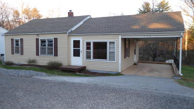Rocky Mount Single Family Home For Sale: 130 Harvey St