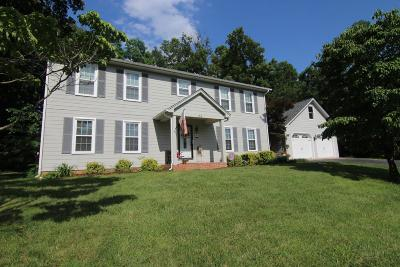 Troutville Single Family Home For Sale: 86 Charolais Cir