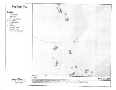 Bedford County Residential Lots & Land For Sale: Dudley Rd