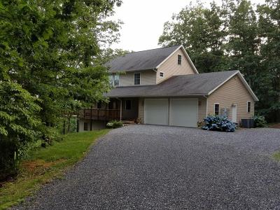 Botetourt County Single Family Home For Sale: 1109 Short Hill Dr