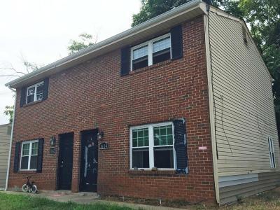Roanoke Multi Family Home For Sale: 1602 Eastern Ave NE