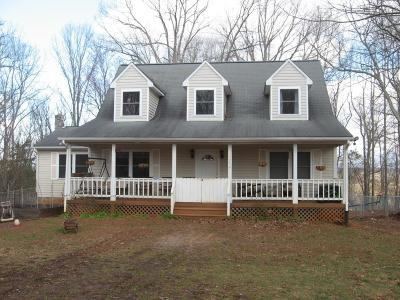 Bedford County Single Family Home For Sale: 1094 Fosters Valley Rd