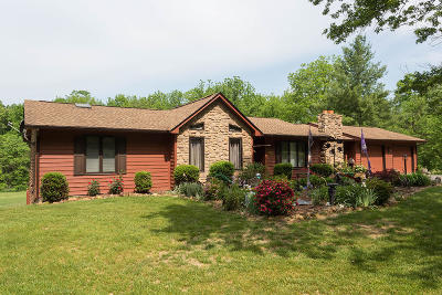 Troutville Single Family Home For Sale: 1751 Laymantown Rd
