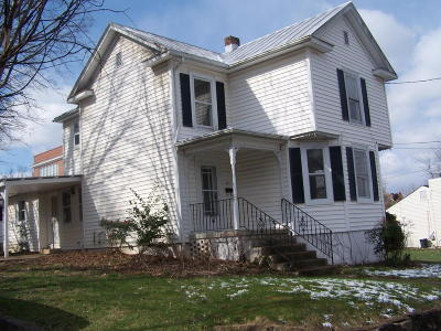 Vinton Single Family Home For Sale: 339 E Cleveland Ave