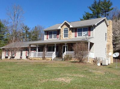Boones Mill Single Family Home For Sale: 270 Shamrock Farm Ln