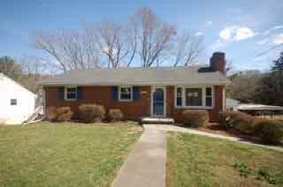 Roanoke VA Single Family Home For Sale: $118,000