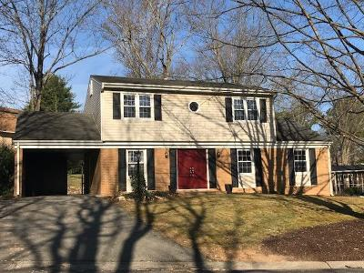 Roanoke VA Single Family Home For Sale: $239,500