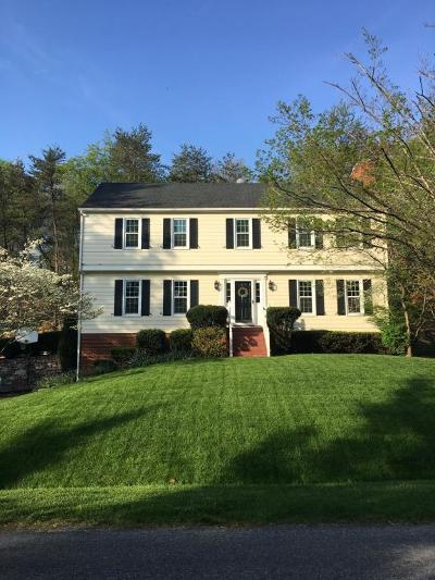 Roanoke County Single Family Home For Sale: 5336 Canter Dr