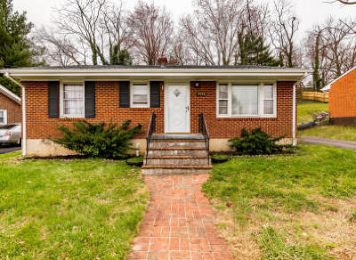 Roanoke Single Family Home For Sale: 4932 Desi Rd NW