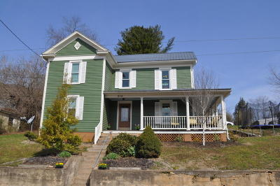 Botetourt County Single Family Home For Sale: 214 1st St
