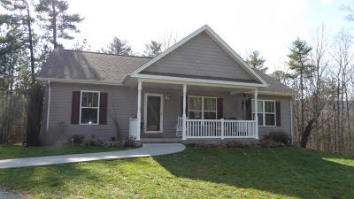 Franklin County Single Family Home For Sale: 485 Foothills Rd