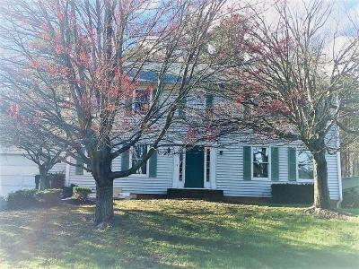 Roanoke County Single Family Home For Sale: 5964 Buckland Mill Rd