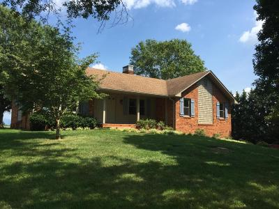 Botetourt County Single Family Home For Sale: 262 Farmers Rd