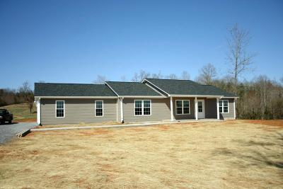 Bedford County Single Family Home For Sale: 1404 Shingle Block Rd