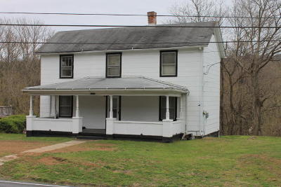 Botetourt County Single Family Home For Sale: 20314 Main St