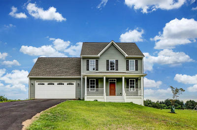 Boones Mill Single Family Home For Sale: 456 Nursery Rd #Lot 6