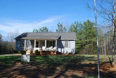 Franklin County Single Family Home For Sale: 736 Holland Rd