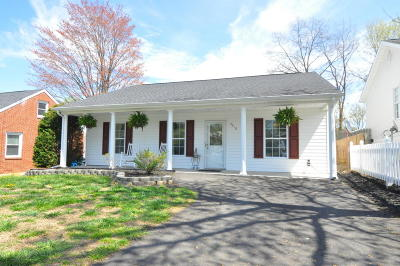 Roanoke Single Family Home For Sale: 3418 Garden City Blvd SE