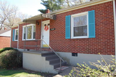 Roanoke Single Family Home For Sale: 2908 Hollowell Ave SW