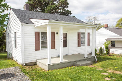 Roanoke Single Family Home For Sale: 4022 Maine Ave NW